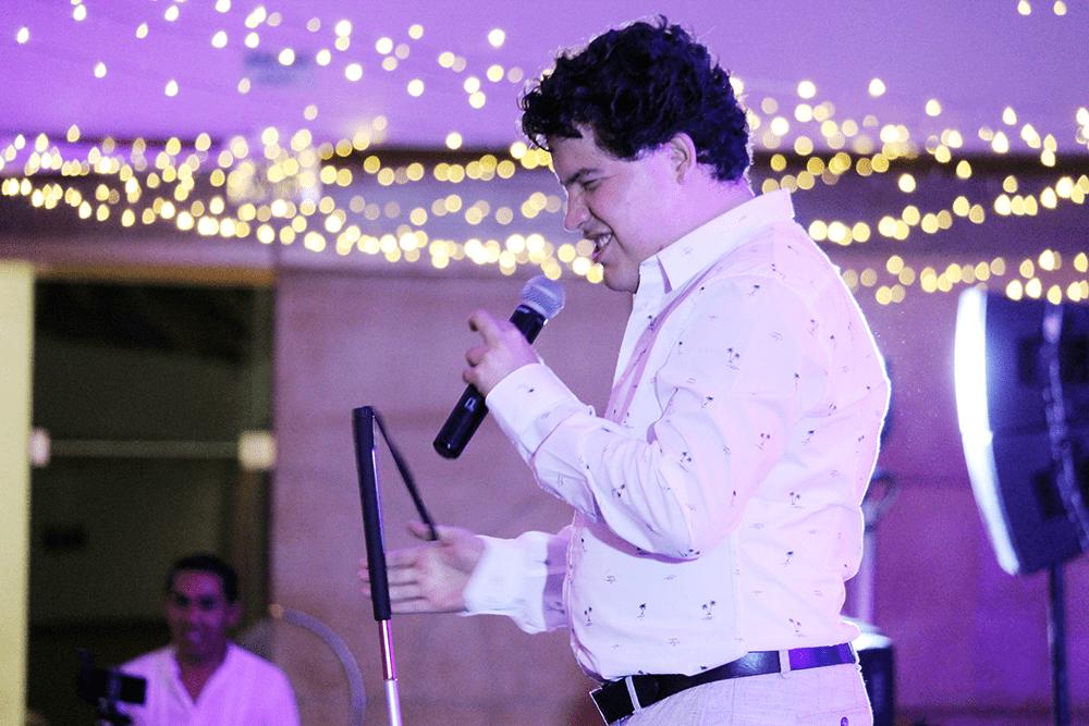 comediante Alexis Ojitos de Huevo